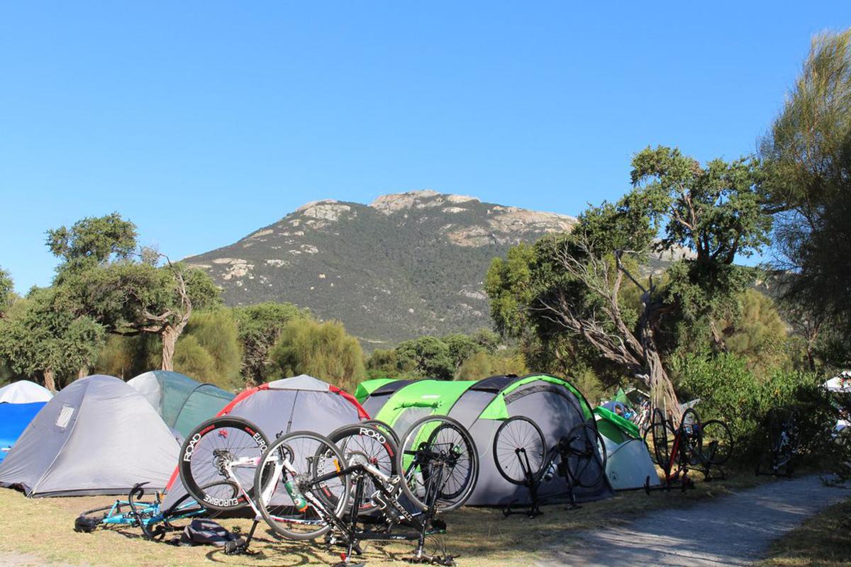 Great Vic Bike Ride - Camping