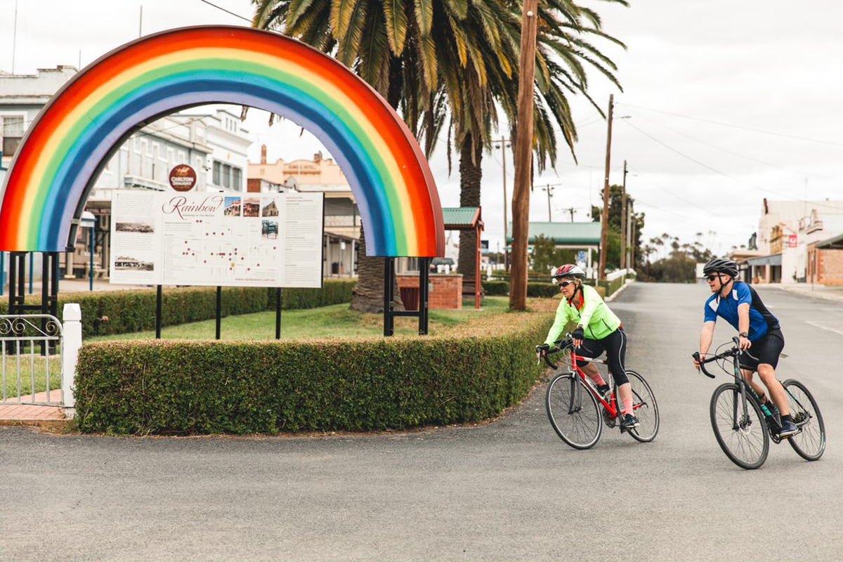 Rainbow - Great Vic Bike Ride