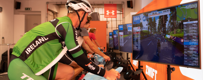 virtual riding zwift