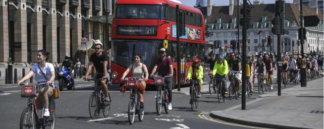 london bike riders