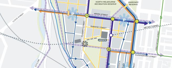 Arden transport plan