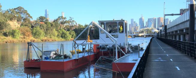 yarra river dredging
