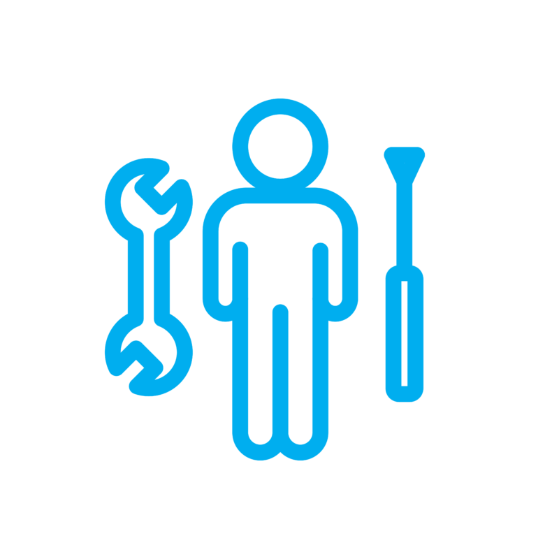COVID-19 Icons - Support Staff