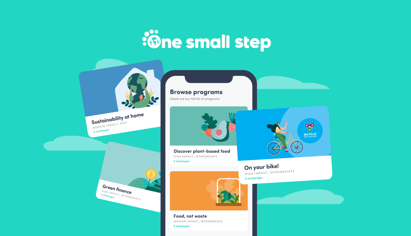 One Small Step app