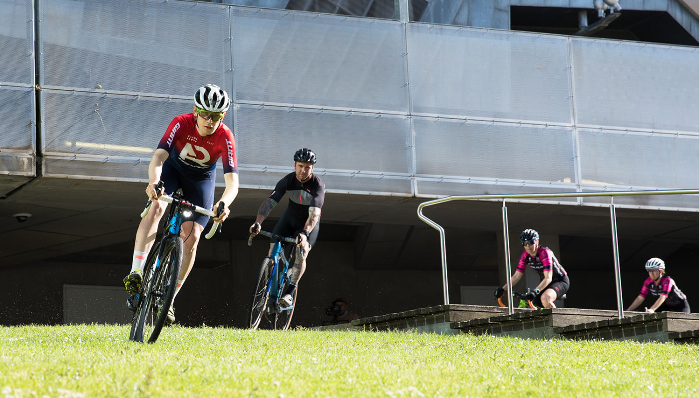 Cyclocross racing in Melbourne