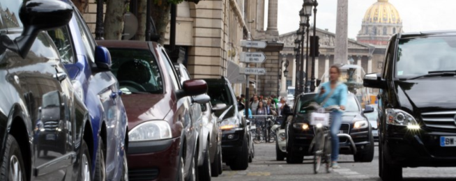Paris removes another 10,000 parking spaces