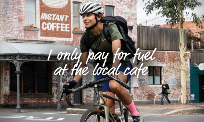 I only pay for fuel at the local cafe