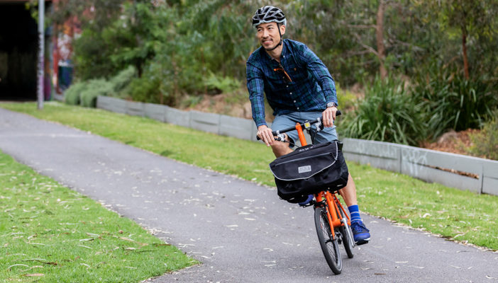Commuting by Brompton