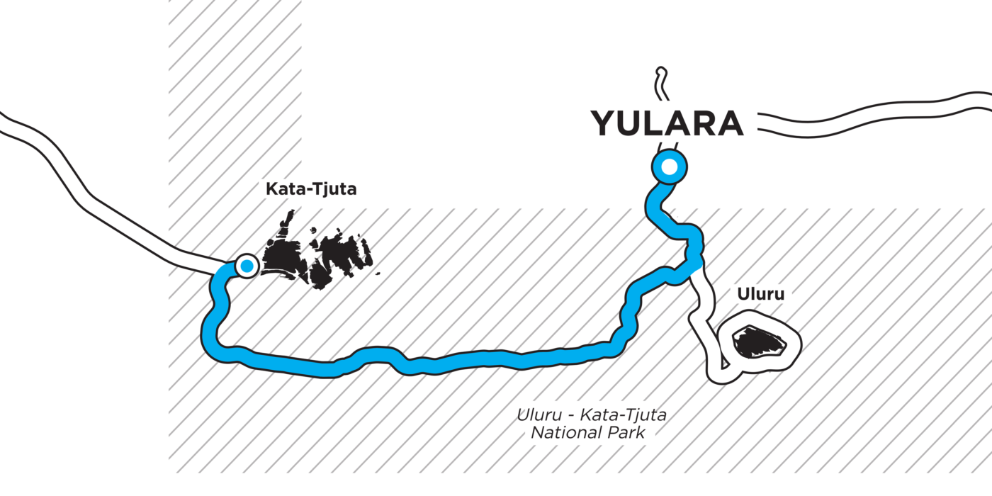 GOE22 - Day 7 route map