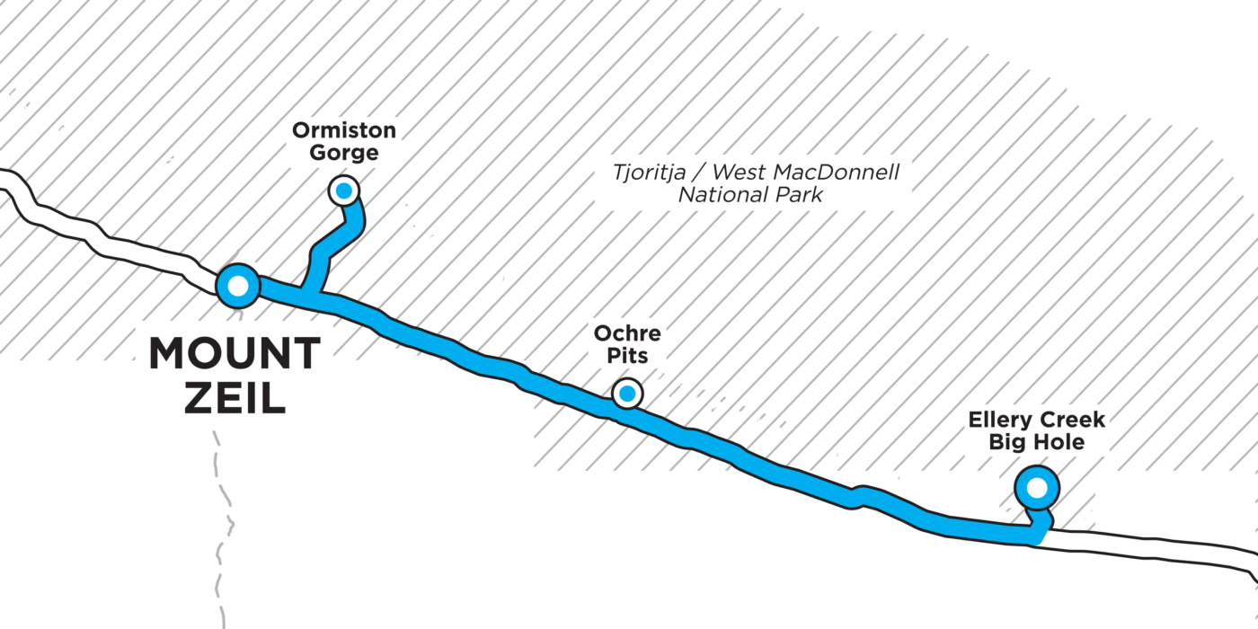 GOE22 - Day 2 route map
