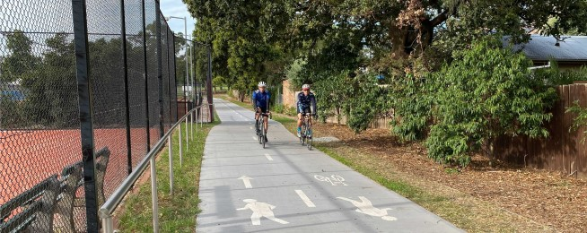 Outer Circle trail gap fixed