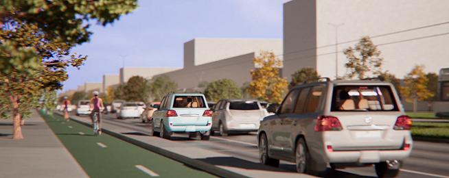 St Kilda Road concept design