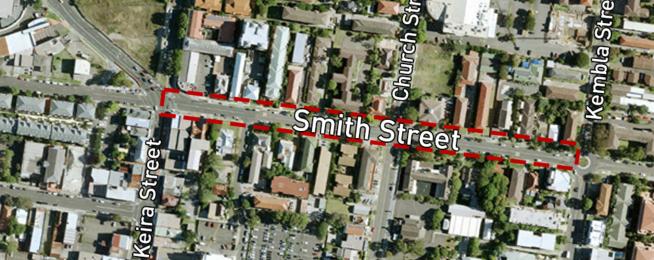 Smith Street cycleway Wollongong