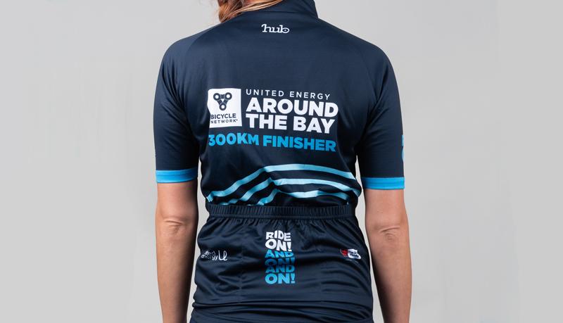 Around the Bay 2021 finishers jersey