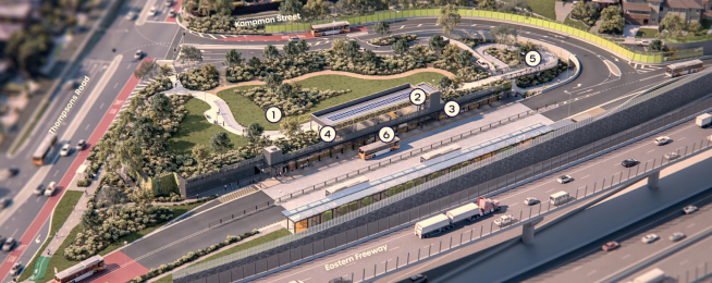 Approval for Bulleen Park and Ride