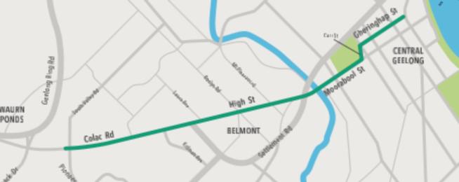 Geelong's southern link gets green light