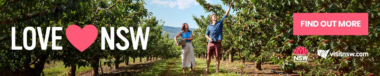 Destination NSW - Love NSW - Orange