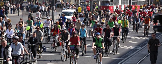 Pan-European master plan for bikes