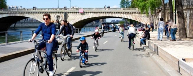 Paris speed limits reduced
