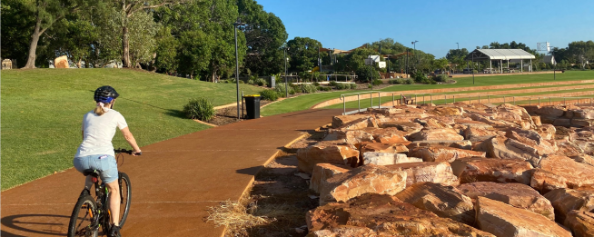 Conti Foreshore shared path project