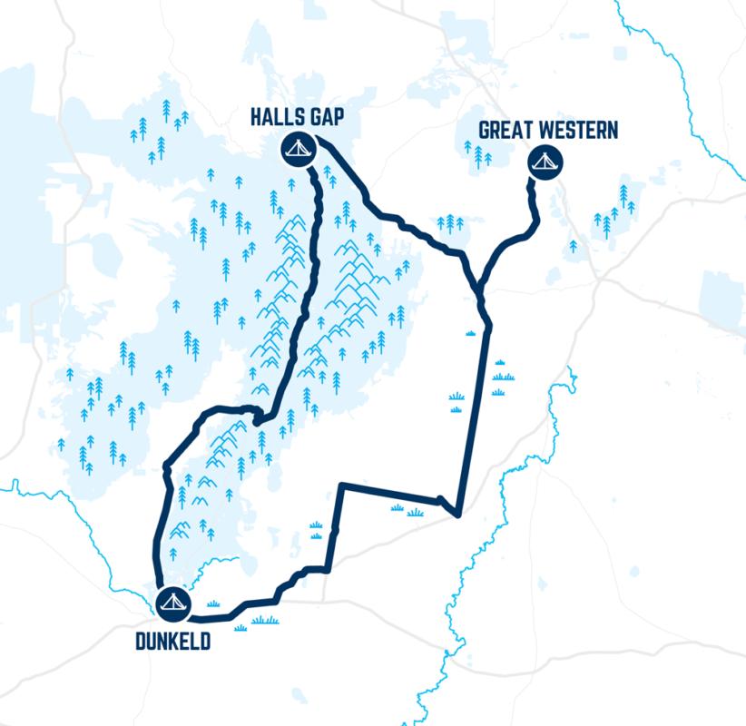 Little Vic 2021 route map
